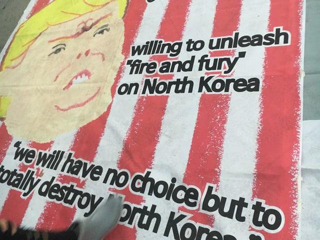 Anti-Trump-Kundgebung.