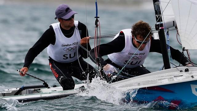 Yannick Brauchli (l.) und Romuald Hausser sichern der Schweiz einen Quotenplatz für Rio.
