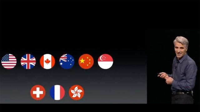Kleines Land unter lauter Riesen: Apple Pay startet in der Schweiz.
