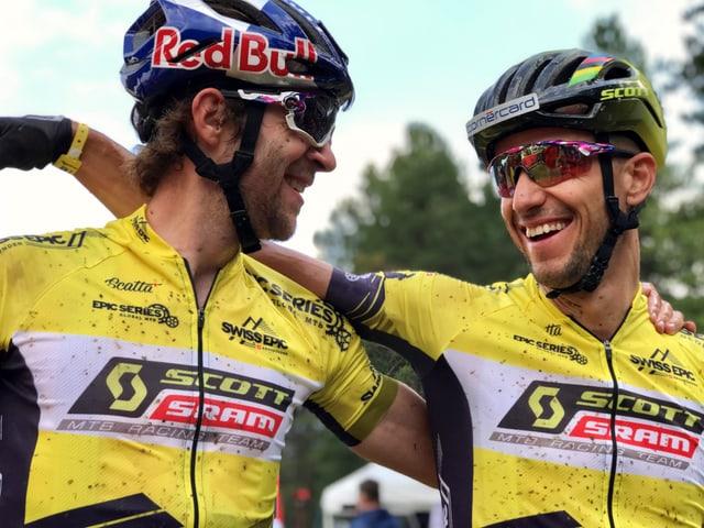 Lars Forster e Nino Schurter