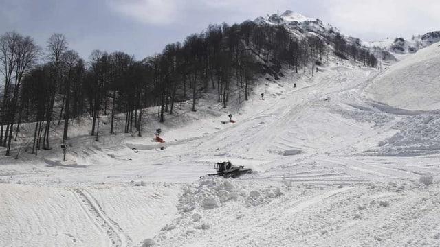 Skigebiet Sotschi