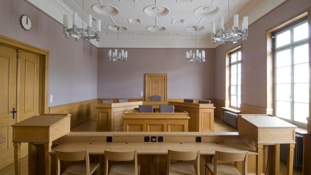 Bezirksgericht Bülach, Innenansicht