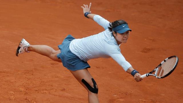 Für Li Na sind die French Open 2013 beendet.