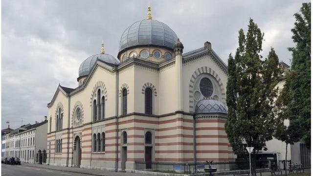 Basler Synagoge von aussen.