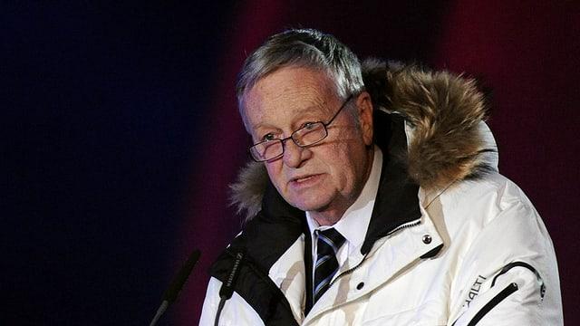 Il president da la FIS Gian Franco Kasper.