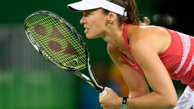 Martina Hingis, qua als gieus olimpics a Rio.
