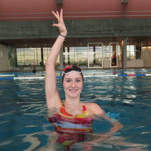 Synchronschwimmerin Vivienne Koch.