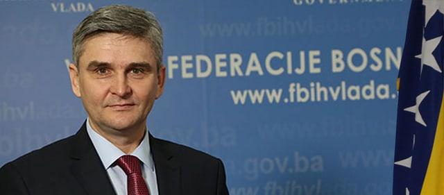 Minister Salko Bukvarevic