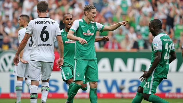 Auch gegen Bremen muss Mönchengladbach als Verlierer vom Feld.