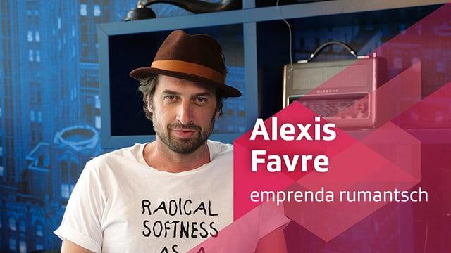 Purtret d'Alexis Favre.