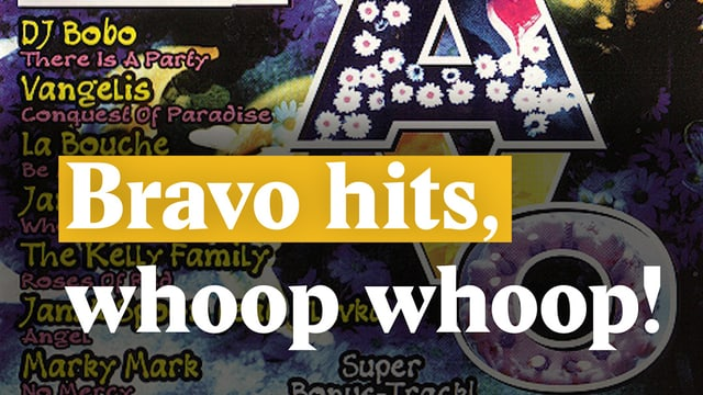 Laschar ir video «Bravo Hits, whoop whoop!»