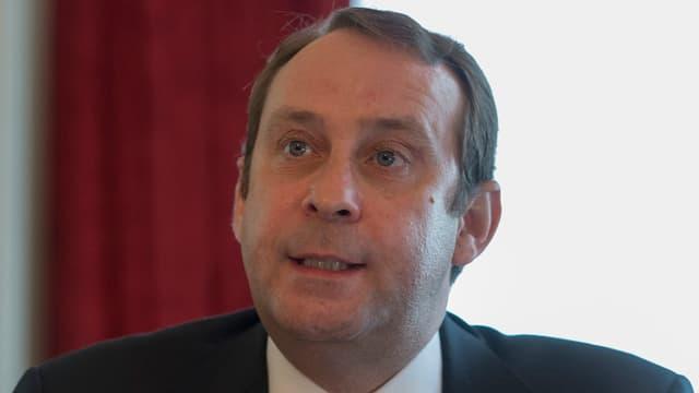 Der Vorsitzende der Geschäftsleitung der Bank La Roche, Christoph Gloor.