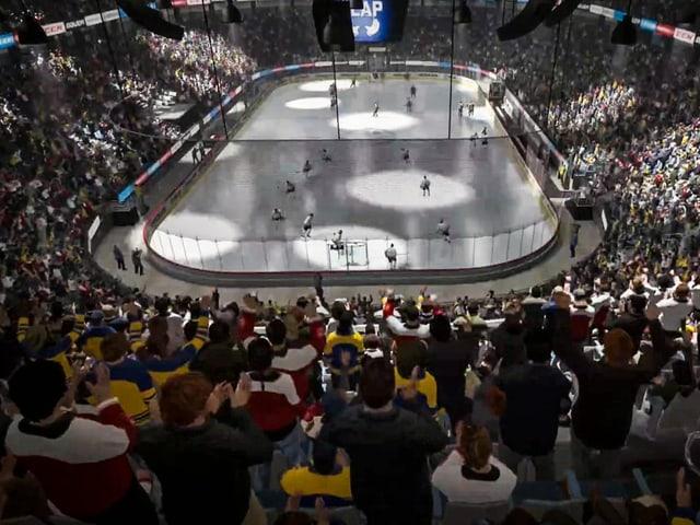 «SRF Sport Eishockey E-Cup»