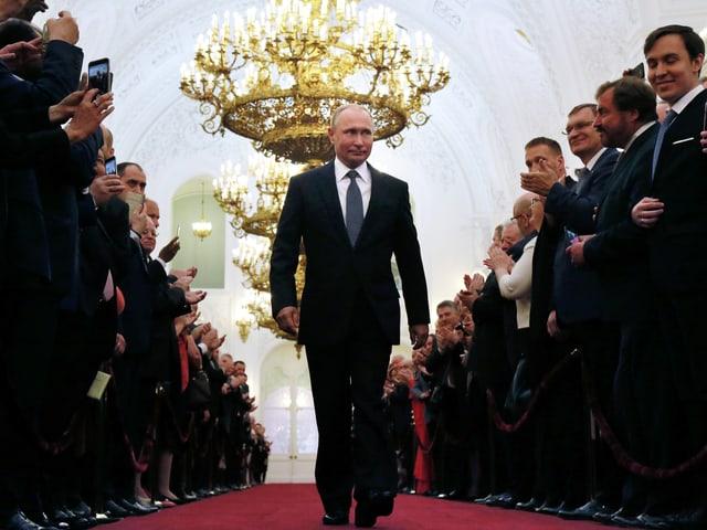 Putin im Kreml