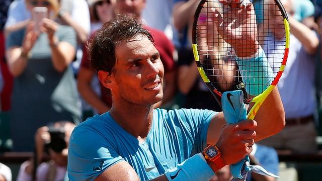 Rafael Nadal suenter victoria al French Open