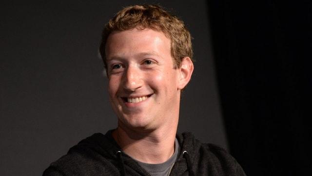 Eine Aufnahme von Facebook-Chef Mark Zuckerberg.