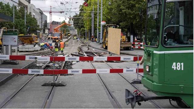 Baustelle BVB