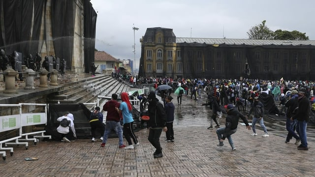 Bogota am 5. Mai 2021.