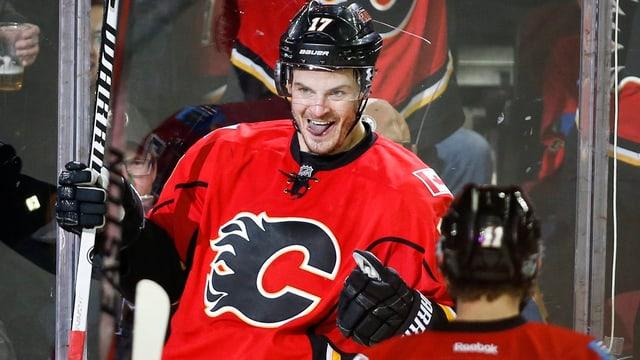 Lance Bouma zeichnete sich bei den Flames als Doppeltorschütze aus.