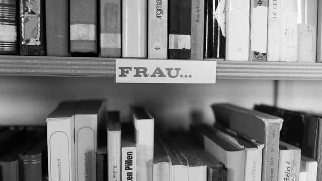 Regal im Archiv
