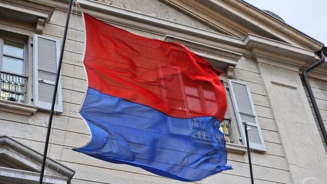 La bandiera dal Tessin.
