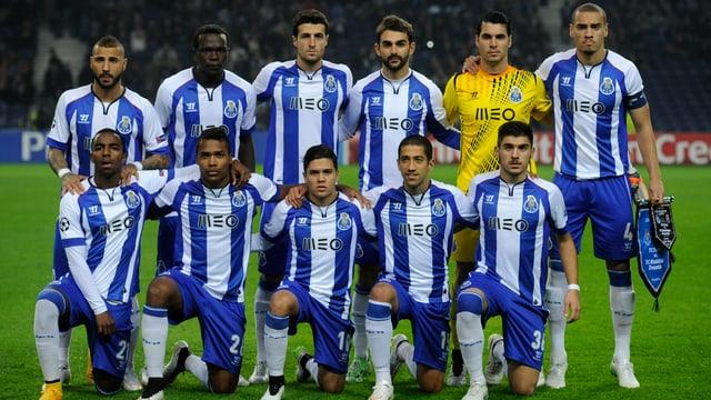 Team-Porträt des FC Porto