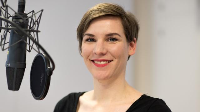Caroline Fux, Sex-Beraterin beim Blick zu Gast bei SRF 3.