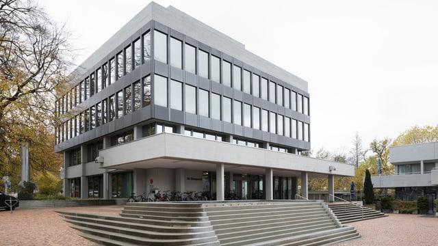 Das Gebäude des Aargauer Obergerichts von aussen.