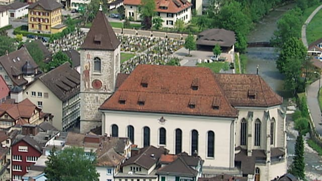 Video «Röm.-kath. Gottesdienst aus der St. Mauritiuskirche Appenzell» abspielen