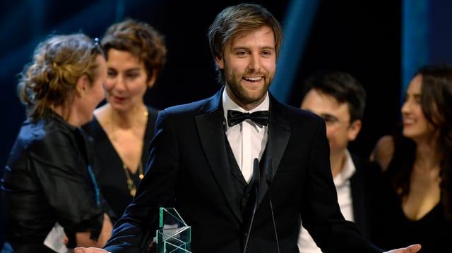 Regisseur Nicolas Steiner an der Gala des Schweizer Films.