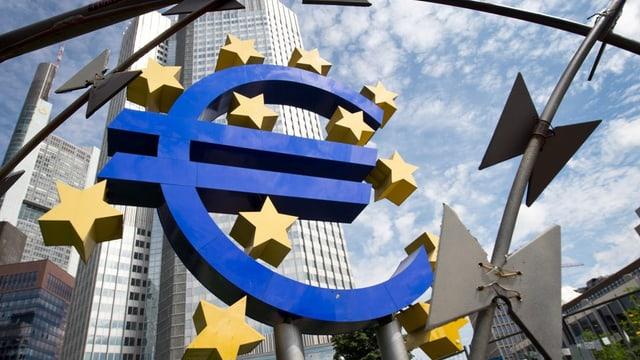 Visa sin il logo e bajetg da la Banca centrala europeica.