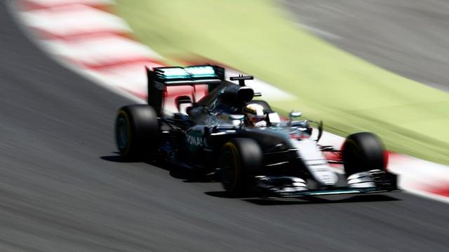 Il pilot da Mercedes Lewis Hamilton.