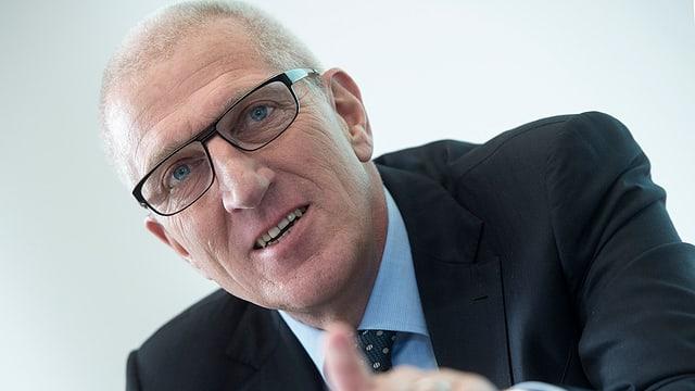 Il schef da la banca Raiffeisen, Pierin Vincenz.