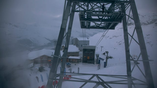 Il territori da skis Corvatsch ina pitga da la sutgera.