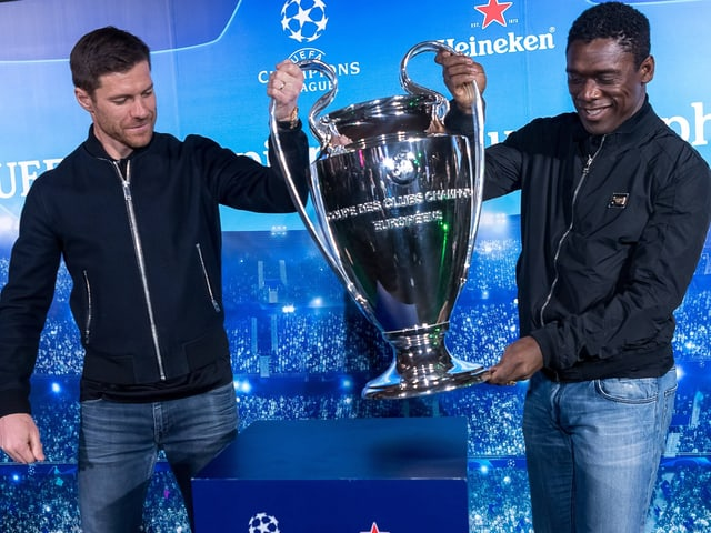 Xabi Alonso und Clarence Seedorf