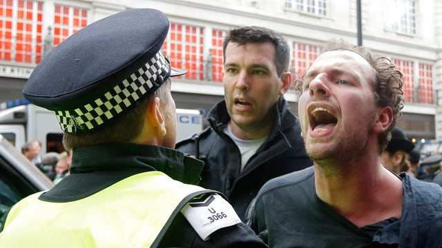 32 Festnahmen bei Protesten