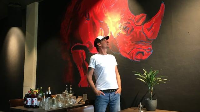 Domi Meyer, Betreiber der Meyer Kulturbeiz in Luzern