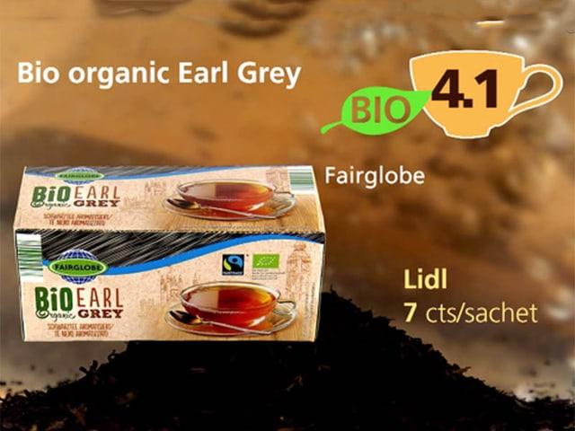 Earl Grey Fairglobe von Lidl, Punktzahl 4,1