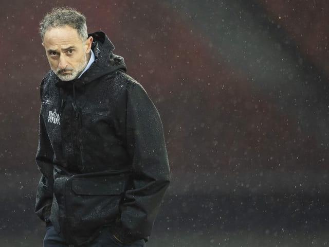 Interimstrainer und designierter Cheftrainer Massimo Rizzo.