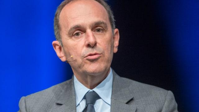 Pietro Supino spricht.