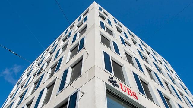 Ina filiala da l'UBS.
