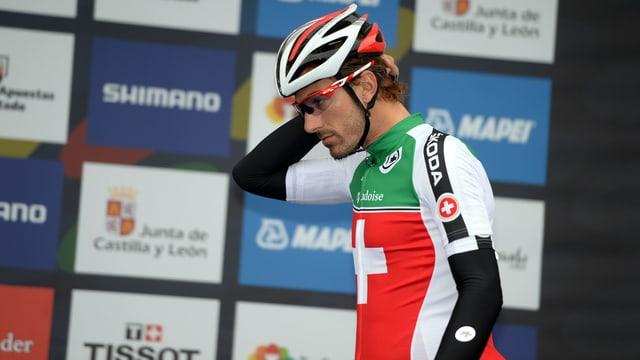 Fabian Cancellara im Schweizer Trikot