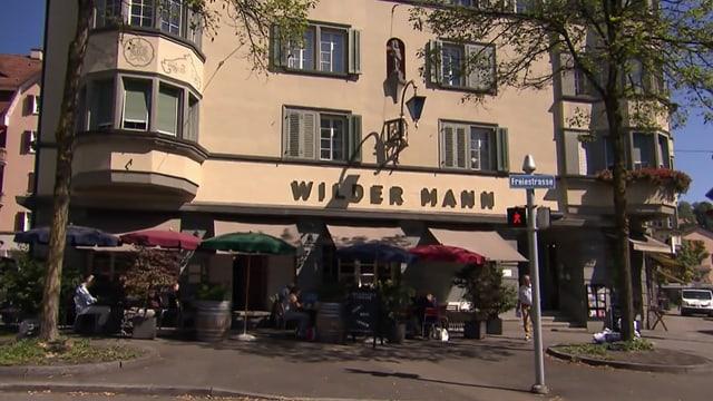 Video «Stadt Zürich – Tag 3 – Restaurant Wilder Mann, Zürich» abspielen