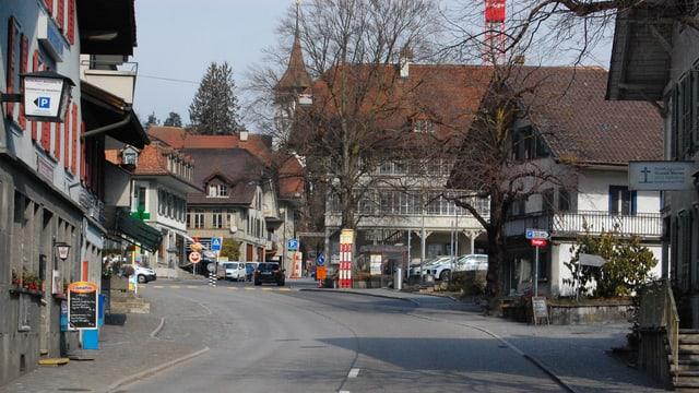 Strassenzug in Steffisburg