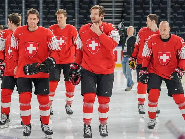 Die Schweizer Hockey-Nati.