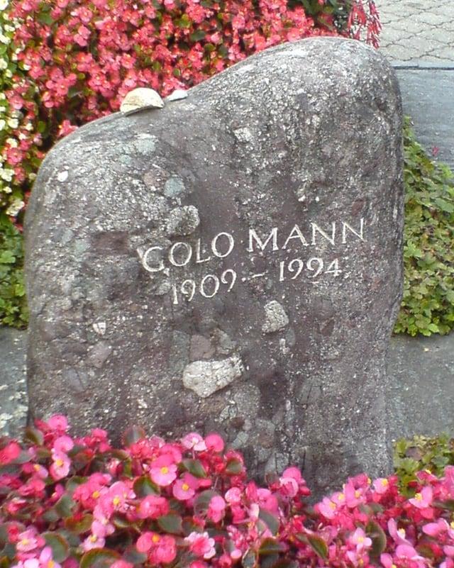 Grab von Golo Mann