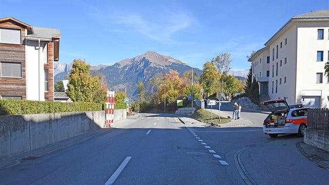 L'accident è capità sin la Deutsche Strasse a Zizras.