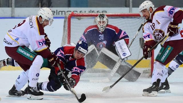 Spielszene aus Ticino Rockets - Genf-Servette