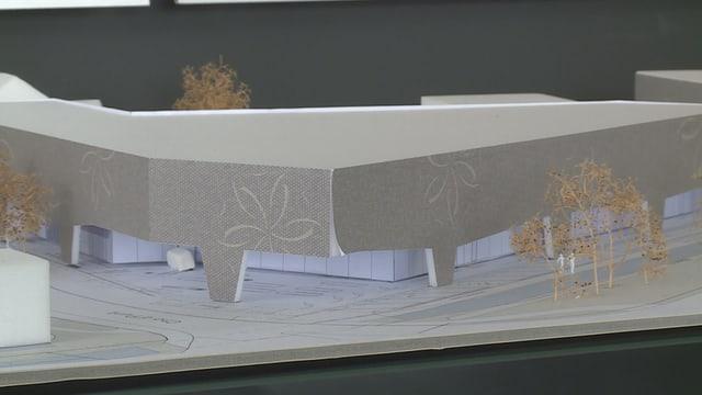 Visualisaziun dal project Porta Cho d'Punt.