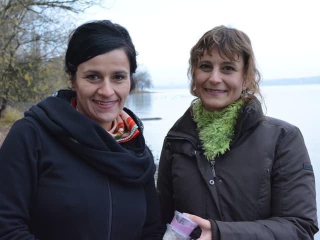 Anet und Katja Fischer.